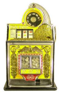 Una slot machine vintage. Oppure la tua inbox?