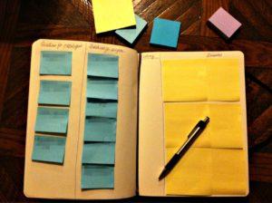 il kanban personale su quaderno