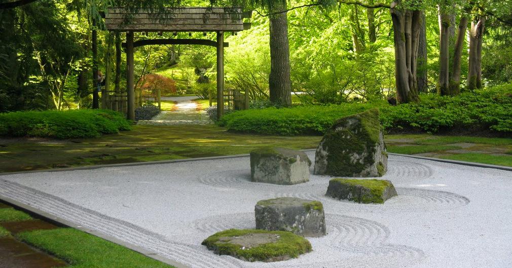 giardino zen giapponese calma tranquillità pace